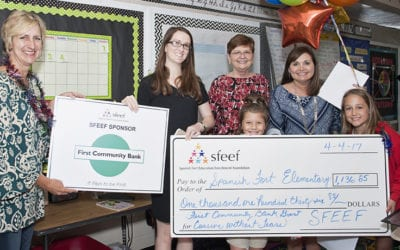 SFEEF Teacher Student Grants Awarded in 2017