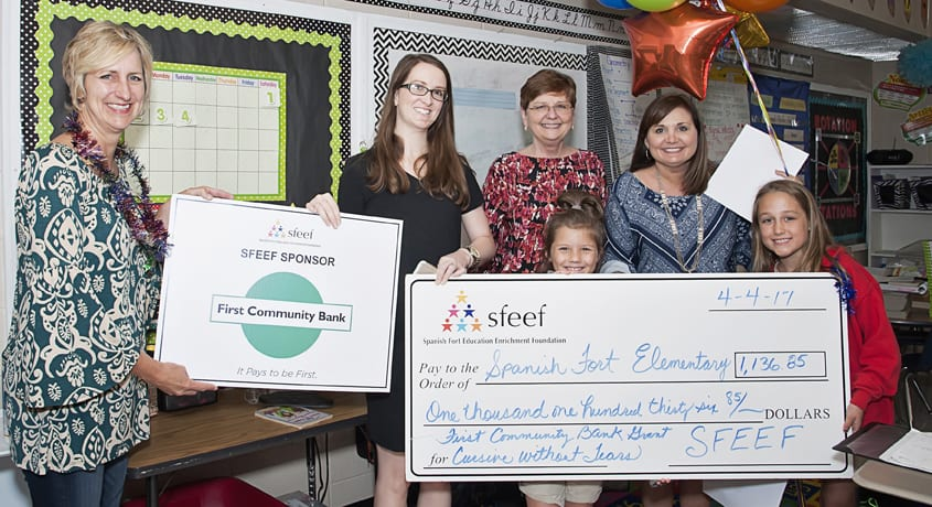 SFEEF Teacher Student Grants Awarded in 2017